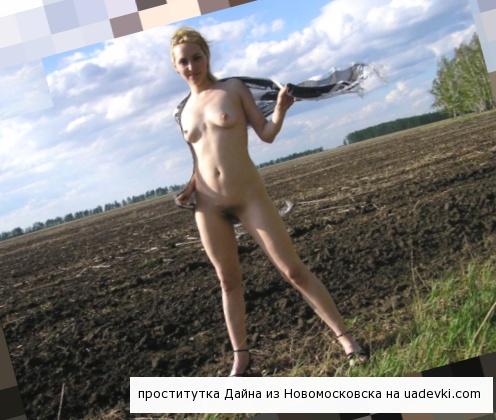 проститутки Новомосковска Дайна